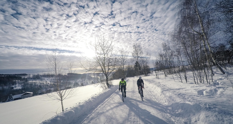 Karkonosze winter bike