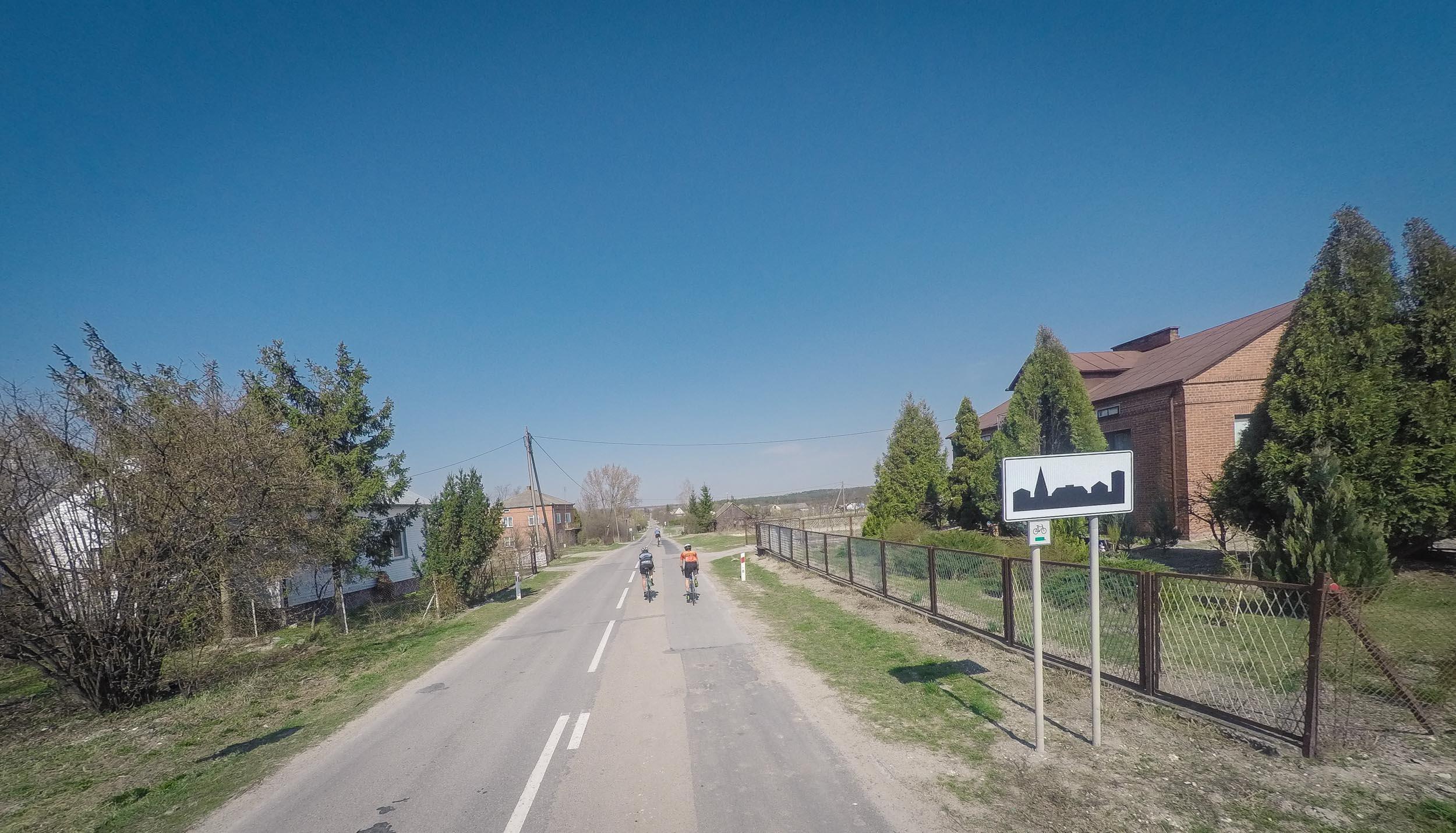droga we wsi