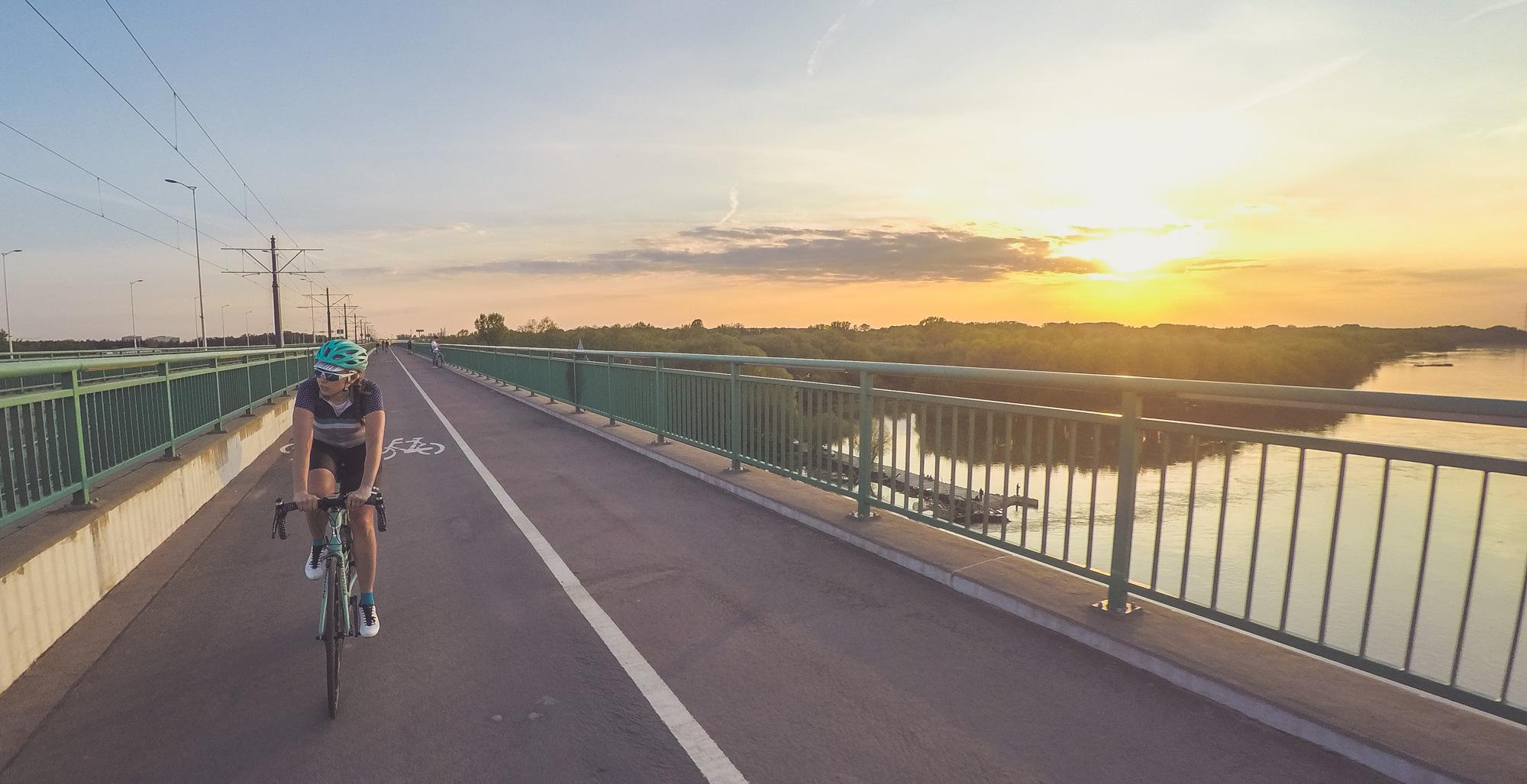 most północny - zachód słońca