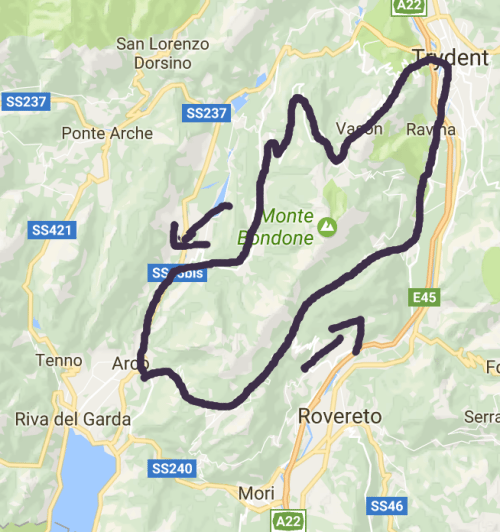 passo bordala cycling
