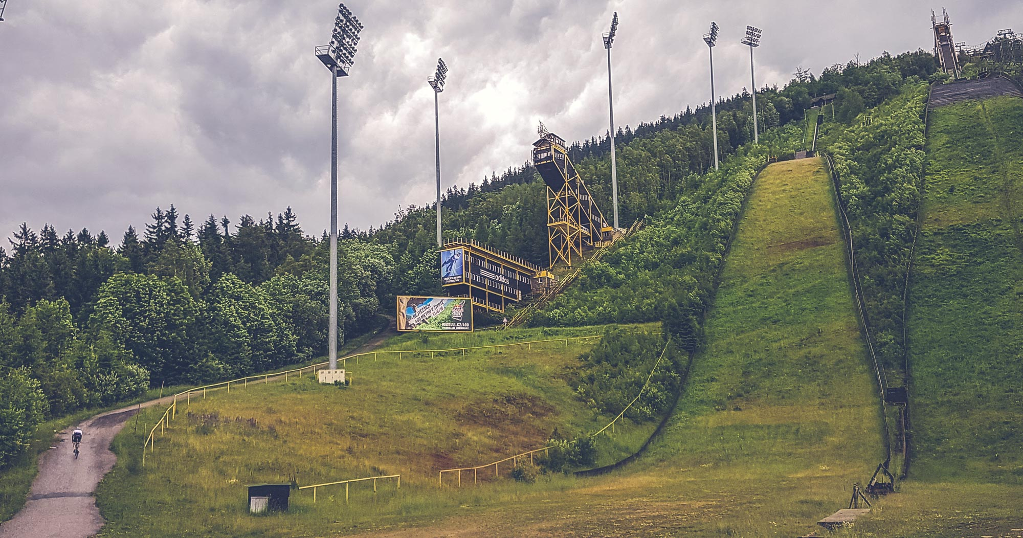 The Harrachov ski jump