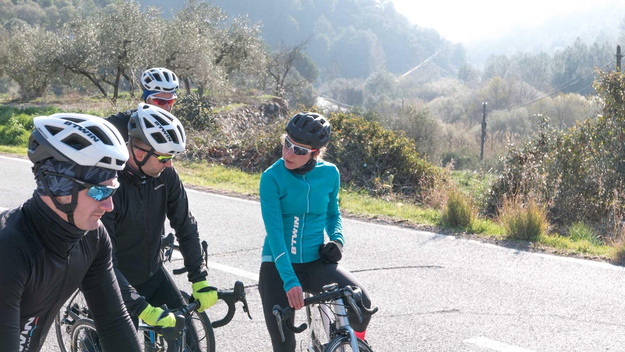 Szosa Z Decathlonu Czyli Hiszpański Press Camp I Btwin Hop Cycling