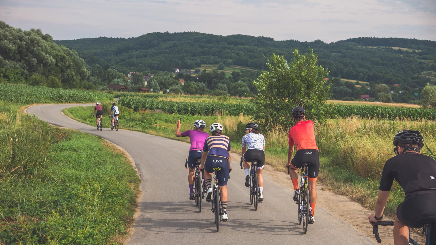 cycling in the Carpathian region