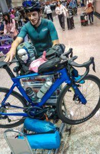tajpej lotnisko rower